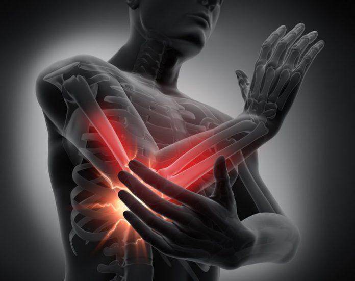 Fala uderzeniowa – wskazania: zapalenie ścięgna bocznego nadkłykcia ramienia (łokieć tenisisty)