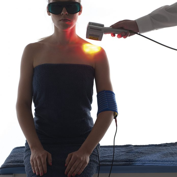 Low level laser therapy treatment