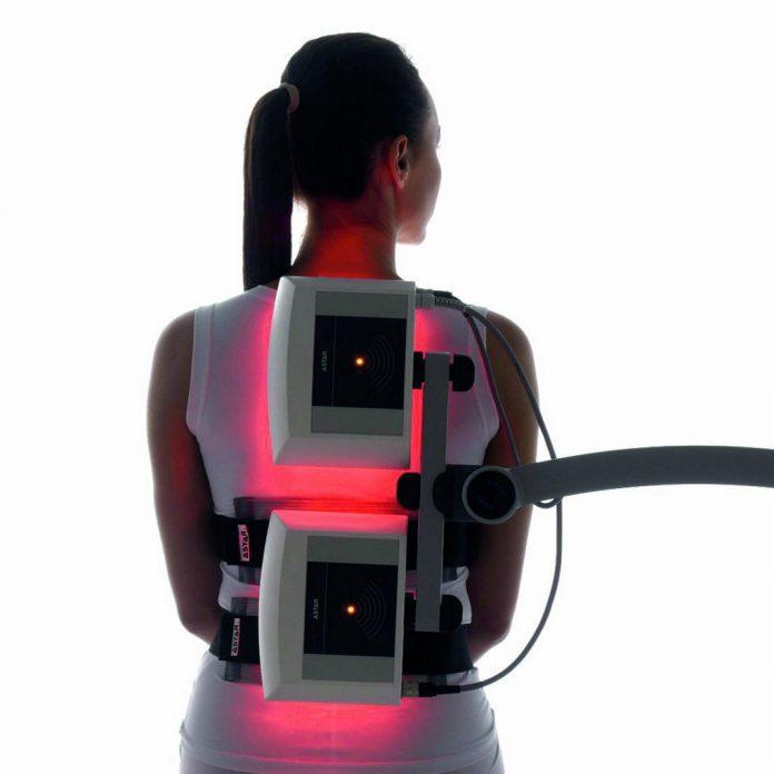 PhysioMG 825 zabieg magnetoterapia - wizualny wskaźnik aktywności pola