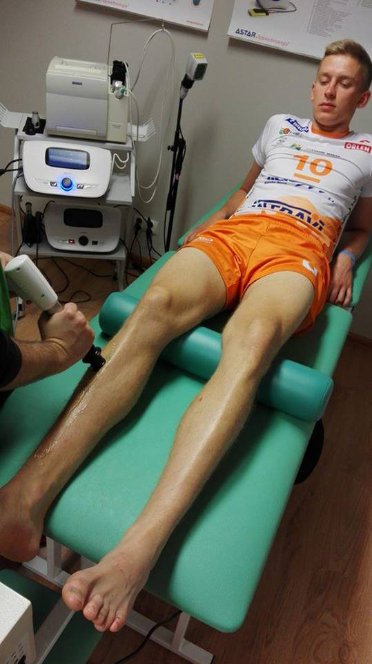 Shockwave therapy with the use of Impactis M unit