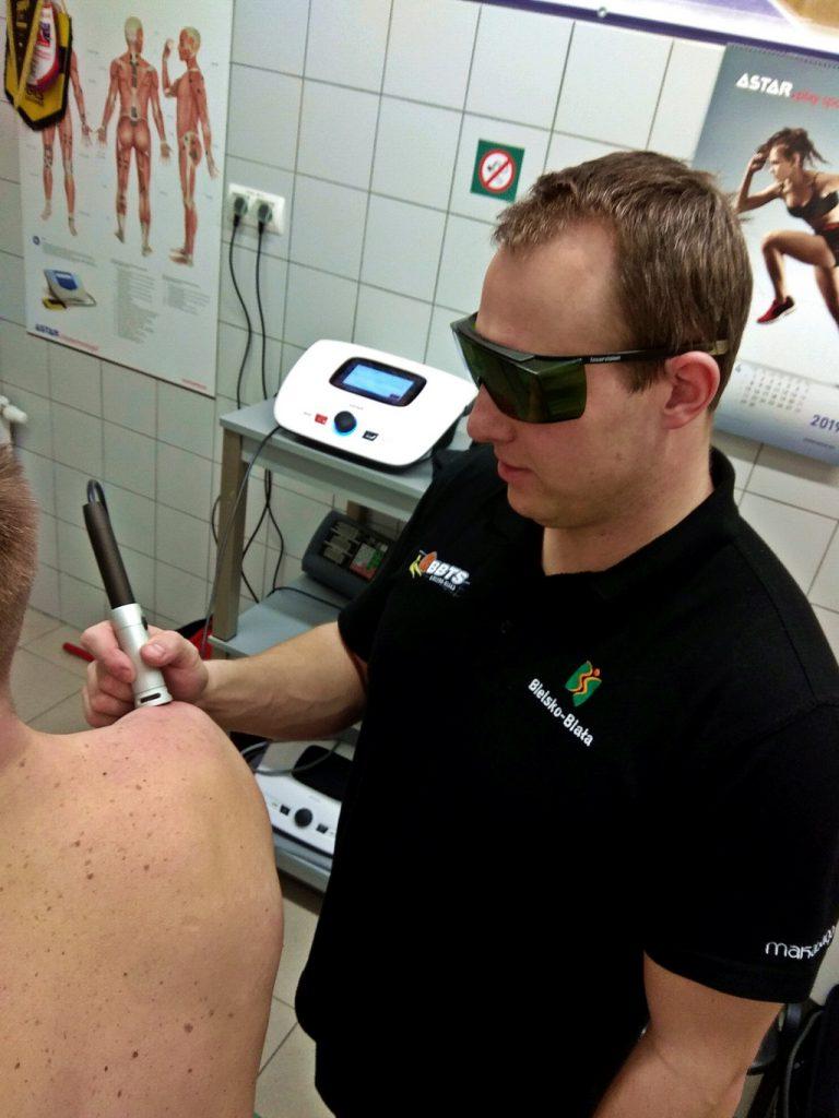 terapia laserem wysokoenergetycznym