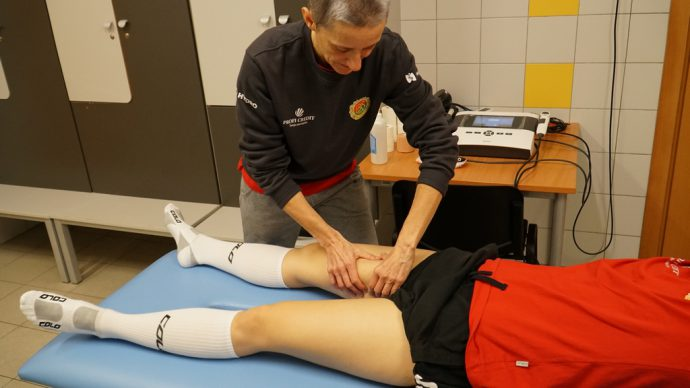 manual therapy - sartorius muscle strain